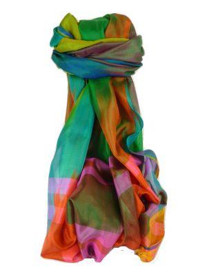 Varanasi Ekal Premium Silk Long Scarf Heritage Range Shan 3 by Pashmina & Silk