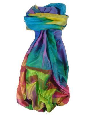 Varanasi Ekal Premium Silk Long Scarf Heritage Range Shan 7 by Pashmina & Silk