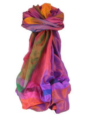 Varanasi Ekal Premium Silk Long Scarf Heritage Range Shan 10 by Pashmina & Silk