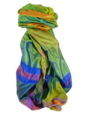 Varanasi Ekal Premium Silk Long Scarf Heritage Range Jai 4 by Pashmina & Silk