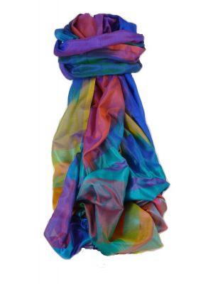 Varanasi Ekal Premium Silk Long Scarf Heritage Range Jai 10 by Pashmina & Silk