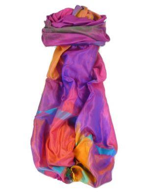 Varanasi Ekal Premium Silk Long Scarf Heritage Range Jindal 1 by Pashmina & Silk