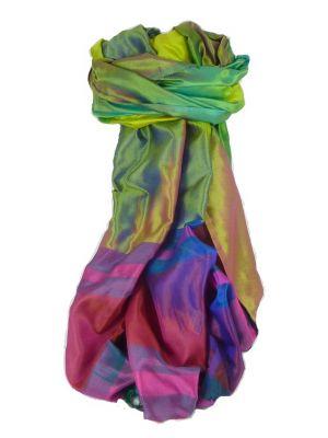 Varanasi Ekal Premium Silk Long Scarf Heritage Range Jindal 5 by Pashmina & Silk