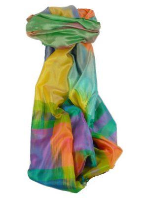 Varanasi Ekal Premium Silk Long Scarf Heritage Range Jindal 8 by Pashmina & Silk