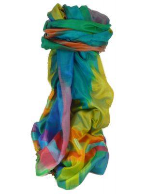 Varanasi Ekal Premium Silk Long Scarf Heritage Range Bera 1 by Pashmina & Silk