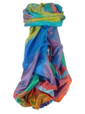Varanasi Ekal Premium Silk Long Scarf Heritage Range Bera 2 by Pashmina & Silk