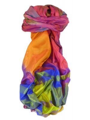 Varanasi Ekal Premium Silk Long Scarf Heritage Range Bera 7 by Pashmina & Silk