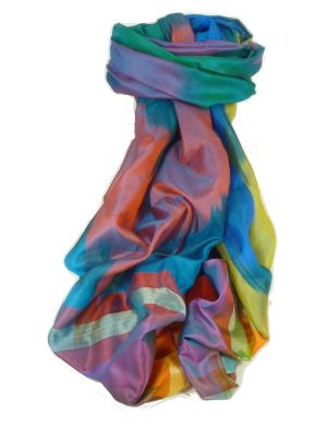 Varanasi Ekal Premium Silk Long Scarf Heritage Range Chana 2 by Pashmina & Silk