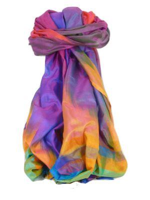Varanasi Ekal Premium Silk Long Scarf Heritage Range Chana 3 by Pashmina & Silk