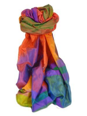 Varanasi Ekal Premium Silk Long Scarf Heritage Range Chana 5 by Pashmina & Silk