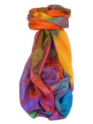 Varanasi Ekal Premium Silk Long Scarf Heritage Range Chana 10 by Pashmina & Silk