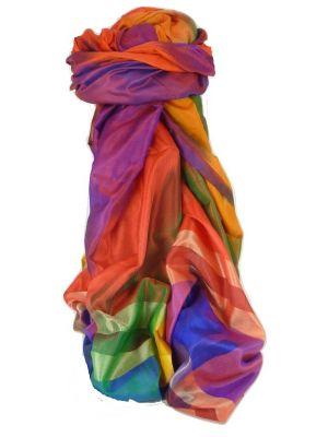 Varanasi Ekal Premium Silk Long Scarf Heritage Range Das 1 by Pashmina & Silk