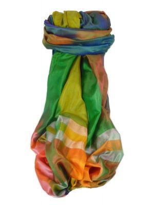 Varanasi Ekal Premium Silk Long Scarf Heritage Range Das 2 by Pashmina & Silk