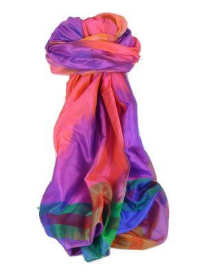 Varanasi Ekal Premium Silk Long Scarf Heritage Range Das 3 by Pashmina & Silk