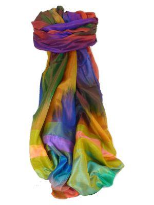 Varanasi Ekal Premium Silk Long Scarf Heritage Range Das 5 by Pashmina & Silk