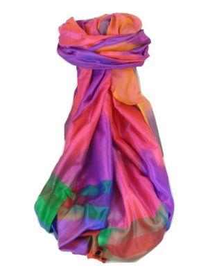 Varanasi Ekal Premium Silk Long Scarf Heritage Range Das 6 by Pashmina & Silk