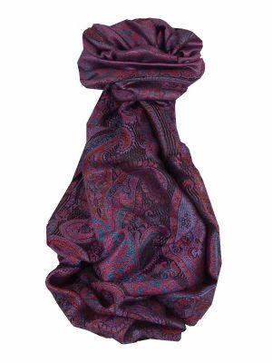 Mens Jamawar Premium Silk Scarf Pattern 7549 by Pashmina & Silk