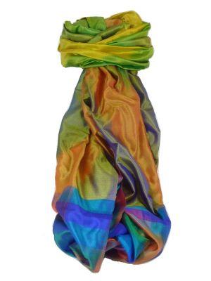 Varanasi Ekal Premium Silk Long Scarf Heritage Range Das 10 by Pashmina & Silk