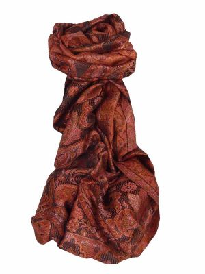 Premium Silk Stole Pattern 7839 by Pashmina & Silk