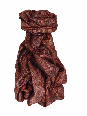 Premium Silk Stole Pattern 7969 by Pashmina & Silk