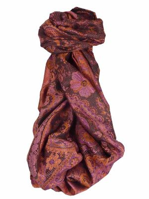 Premium Silk Stole Pattern 8089 by Pashmina & Silk