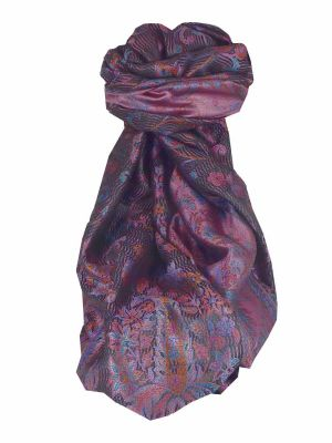 Premium Silk Stole Pattern 8119 by Pashmina & Silk