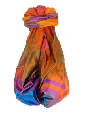 Varanasi Ekal Premium Silk Long Scarf Heritage Range Gulati 2  by Pashmina & Silk