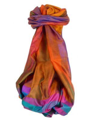 Varanasi Ekal Premium Silk Long Scarf Heritage Range Gulati 4 by Pashmina & Silk