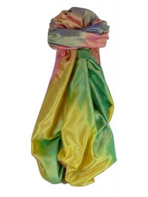 Varanasi Ekal Premium Silk Long Scarf Heritage Range Gulati 6 by Pashmina & Silk