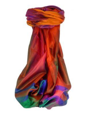 Varanasi Ekal Premium Silk Long Scarf Heritage Range Gulati 7 by Pashmina & Silk