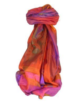 Varanasi Ekal Premium Silk Long Scarf Heritage Range Gulati 9 by Pashmina & Silk