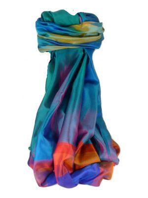 Varanasi Ekal Premium Silk Long Scarf Heritage Range Gulati 10 by Pashmina & Silk
