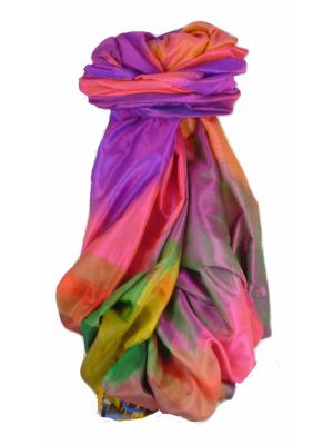 Varanasi Ekal Premium Silk Long Scarf Heritage Range Kurian 1 by Pashmina & Silk