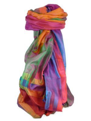 Varanasi Ekal Premium Silk Long Scarf Heritage Range Kurian 5 by Pashmina & Silk