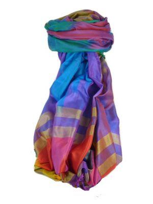 Varanasi Ekal Premium Silk Long Scarf Heritage Range Kurian 6 by Pashmina & Silk