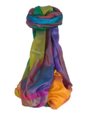 Varanasi Ekal Premium Silk Long Scarf Heritage Range Nath 4 by Pashmina & Silk