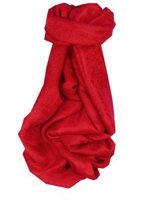 Vietnamese Silk Scarf Reversible Hoi-An Ba-Den Scarlet by Pashmina & Silk