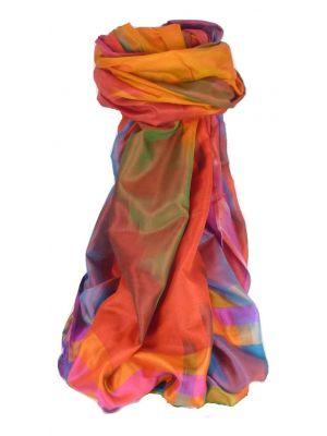 Varanasi Ekal Premium Silk Long Scarf Heritage Range Nath 7 by Pashmina & Silk