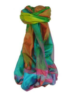 Varanasi Ekal Premium Silk Long Scarf Heritage Range Nath 9 by Pashmina & Silk