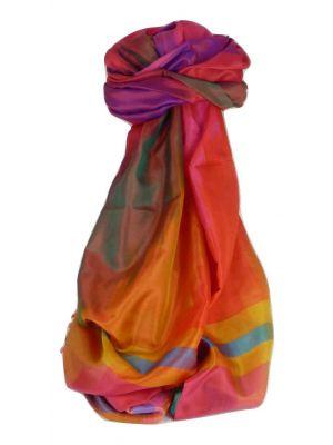 Varanasi Ekal Premium Silk Long Scarf Heritage Range Sangla 1 by Pashmina & Silk