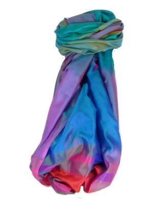 Varanasi Ekal Premium Silk Long Scarf Heritage Range Sangla 2 by Pashmina & Silk