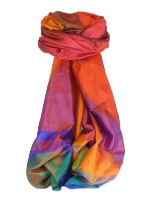 Varanasi Ekal Premium Silk Long Scarf Heritage Range Sangla 5 by Pashmina & Silk