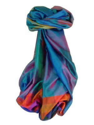 Varanasi Ekal Premium Silk Long Scarf Heritage Range Sangla 6 by Pashmina & Silk