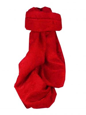 Vietnamese Silk Scarf Reversible Hoi-An Ha-Long Scarlet by Pashmina & Silk