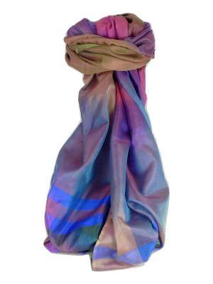 Varanasi Ekal Premium Silk Long Scarf Heritage Range Sangla 7 by Pashmina & Silk