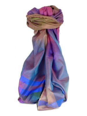 Varanasi Ekal Premium Silk Long Scarf Heritage Range Sangla 8 by Pashmina & Silk