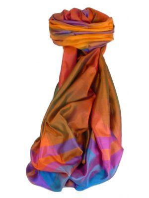 Varanasi Ekal Premium Silk Long Scarf Heritage Range Sangla 10 by Pashmina & Silk
