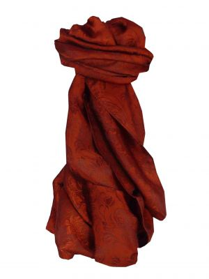 Vietnamese Silk Scarf Reversible Hoi-An Son-La Ruby by Pashmina & Silk