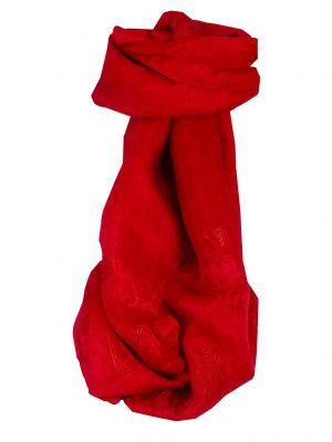Vietnamese Silk Scarf Reversible Hoi-An Tro-Tram Scarlet by Pashmina & Silk