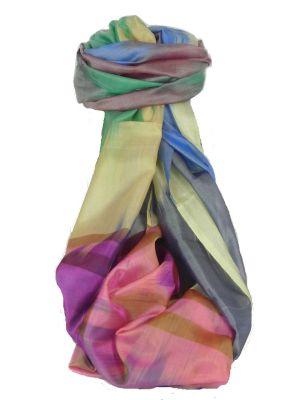 Varanasi Ekal Premium Silk Long Scarf Heritage Range Masood 2 by Pashmina & Silk